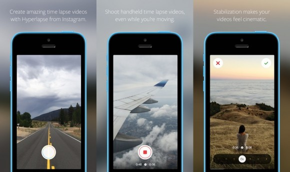Instagram Hyperlapse (Screenshots: via iTunes)