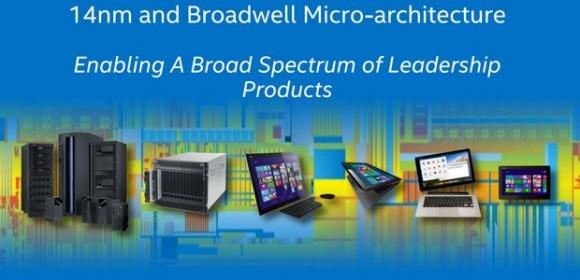 Broadwell-Prozessoren von Intel sollen unter anderem in Tablets und Hybridgeräten zum Einsatz kommen (Bild: Intel).