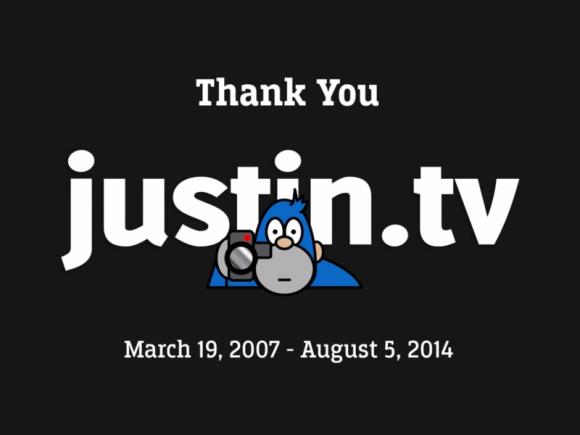 Justin.tv wurde am 5. August eingestellt (Screenshot: ZDNet.de)