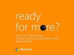 Microsoft-Einladung zur IFA (Bild: Microsoft)