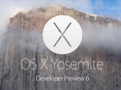OS X 10.10 Developer Preview 6