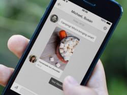 Pinterest verfügt jetzt auch über eine Messaging-Funktion (Bild: Pinterest).