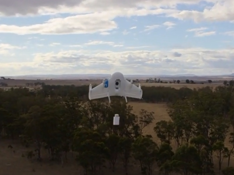 Project Wing: Google testet Paketversand mittels Drohnen