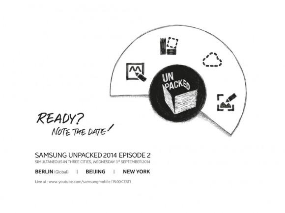 Samsung plant Unpacked-Event zur IFA (Bild: SamMobile)