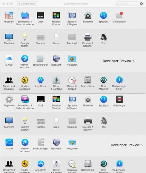 OS X 10.10 Yosemite: Systemeinstellungen