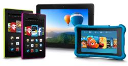 Amazons neue Fire-Tablets mit Fire OS 4 (Bild: Amazon)
