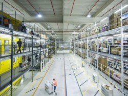 Amazon-Logistikzentrum in Leipzig (Bild: Amazon)
