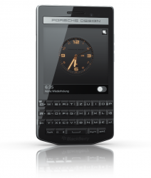 Das Blackberry Porsche Design P'9983 kommt im Oktober in den Handel (Bild: Blackberry).