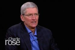 Apple-CEO Tim Cook im Interview bei Charlie Rose (Bild: Charlie Rose/PBS)