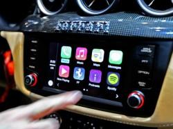 Ferrari setzt Apples CarPlay in seinen Fahrzeugmodellen FF und California T ein (Bild: Ferrari).