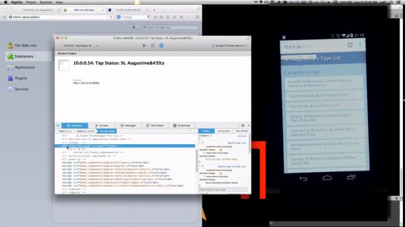 Dank des Firefox Tools Adapter müssen Entwickler ihren Code nicht mehr zwingend in dem Browser debuggen, für den er geschrieben wurde (Bild: Mozilla).