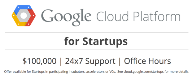 Google Cloud Platform für Start-ups (Bild: Google)