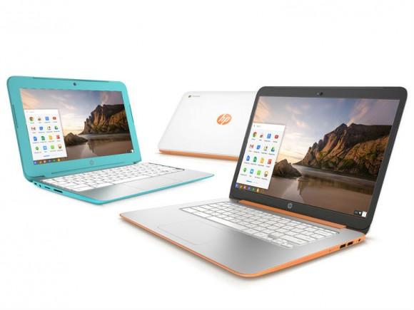 Die aktualisierten HP-Chromebooks kommen im Oktober in den Handel (Bild: HP).