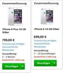 iPhone-6-Lieferbarkeit