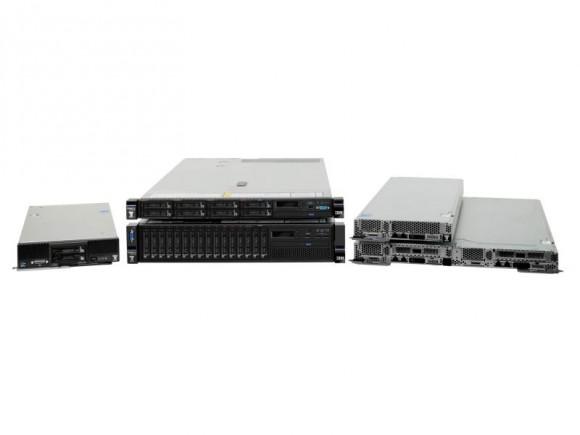 Die neuen M5-Server von IBM basieren auf Intels frisch vorgestelltem Xeon E5 v3 (Bild: IBM).