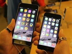 iPhone 6 (rechts) und iPhone 6 Plus (Bild: Gizmodo.de)