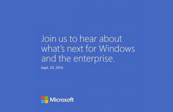 Microsoft stellt am 30. September die nächste Windows-Version vor (Bild: Microsoft).