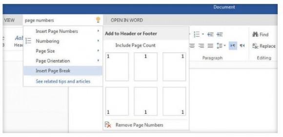 """Die Hilfefunktion """"Tell me"""" ist schon jetzt in Office Online verfügbar (Screenshot: Lance Whitney/News.com)."""
