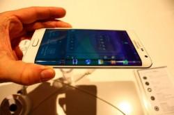 Bildschirmkante des Samsung Galaxy Edge (Bild: CNET.de)