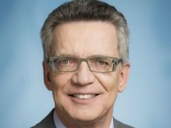 Bundesinnenminister Thomas de Maizière (Bild: BPA/Jesco Denzel)
