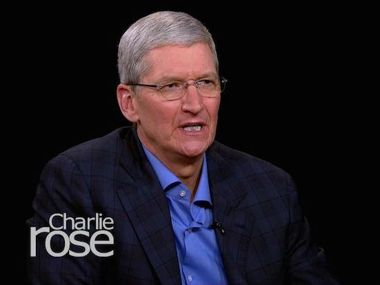 """Tim Cook: Apple hat eine """"deutlich andere Sicht"""" auf den Datenschutz"""