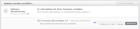 OS X Yosemite GM3