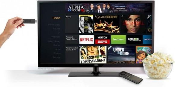 Der Anschluss des Fire TV Stick an den Fernseher erfolgt via HDMI (Bild: Amazon).
