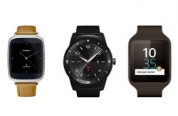 Smartwatches mit Android Wear (Bild: Google)