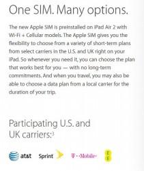 Apple-SIM könnte Herausforderung für Mobilfunkkonzerne bedeuten (Screenshot: ZDNet.de)