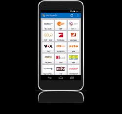 Die FritzApp TV steht für Android ab Version 4.0 und iOS ab Version 7 bereit (Bild: AVM).