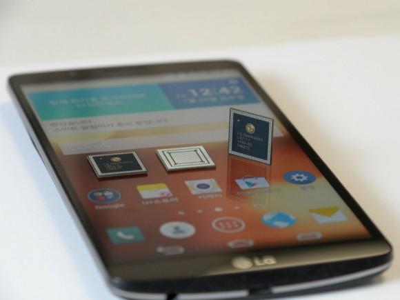 Das G3 Screen ist LGs erstes Smartphone mit dem selbst entwickelten SoC Nuclun (Bild: LG).