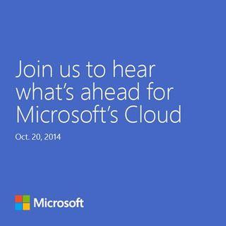 Einladung zu Microsofts Cloud-Event am 20. Oktober (Bild: Microsoft).