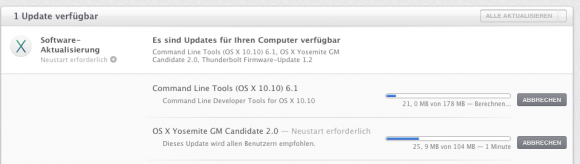 OS X 10.10 Yosemite Golden Master 2
