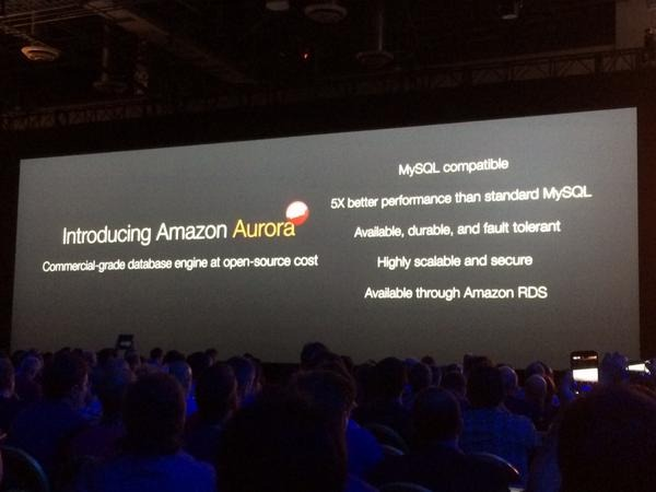 Amazon Web Services Aurora (Bild: ZDNet)