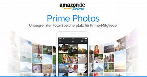 Auch in Deutschland erhalten Prime-Kunden jetzt unbegrenzten Fotospeicher (Bild: Amazon).