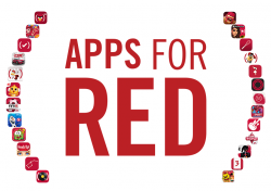 Apple Apps for (RED) (Bild: red.org)
