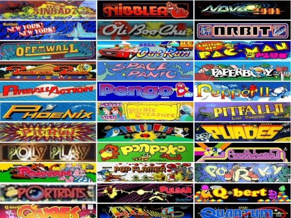 Die im Internet Archive gelisteten Arcade-Klassiker lassen sich direkt im Browser spielen (Screenshot: ZDNet.de).