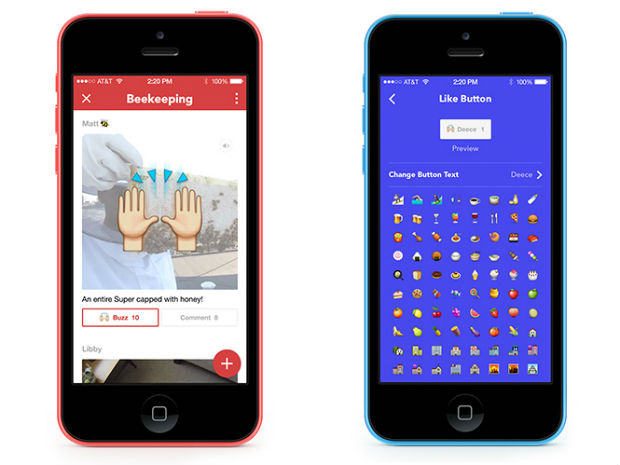 Facebook Rooms auf dem iPhone (Bild: Facebook)