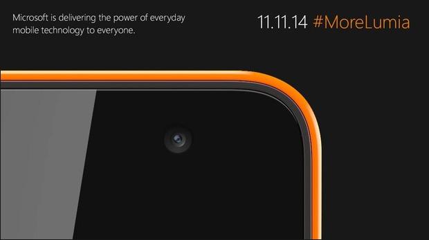 Microsoft stellt am 11. November ein neues Lumia-Gerät vor (Bild: Microsoft).
