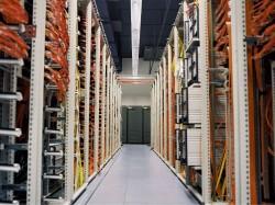 Serveranlage im Rechenzentrum von Lufthansa Systems (Bild: Michael Hudler/ Lufthansa Systems)