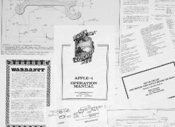 Apple-Dokumente (BIld: Christie's)