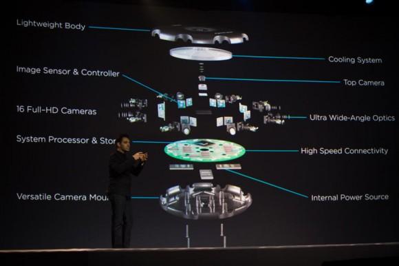 Project Beyond ist mit 16 Full-HD-Kameras ausgestattet (Bild: James Martin/CNET).