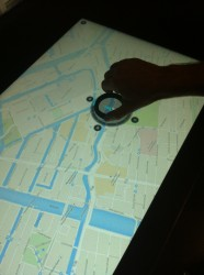 Mapping mit dem Smart Desk (Bild: ZDNet.com)
