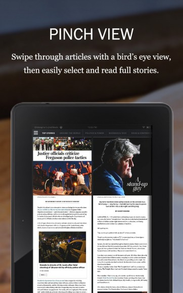 Neue App der Washington Post (Bild: via Amazon)