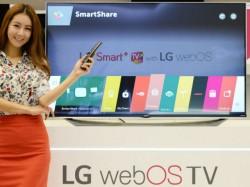 LG will auf der CES 2015 erste Smart-TVs mit WebOS 2.0 zeigen (Bild: LG).