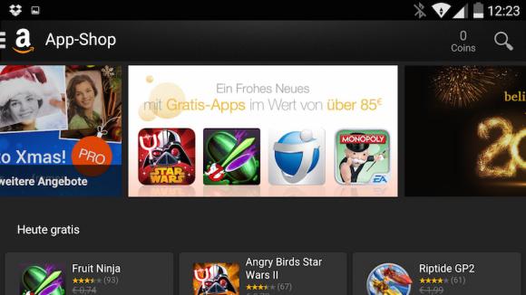 Amazon App Shop (Screenshot: ZDNet.de)