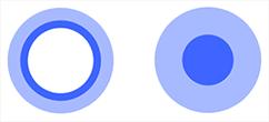 Das Cortana-Icon verändert sich, wenn der Empfang eingeschaltet ist (Bild: Microsoft)