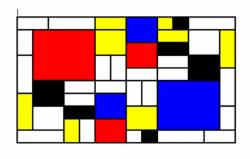 Mondrian-Nachahmung in Google Docs (Bild: Google)