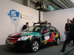 Google-Street-View-Auto (Bild: Peter Marwan/ZDNet.de)