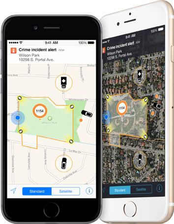 """""""Incident-Aware"""" soll Polizeibeamten die Arbeit erleichtern (Bild: Apple)."""
